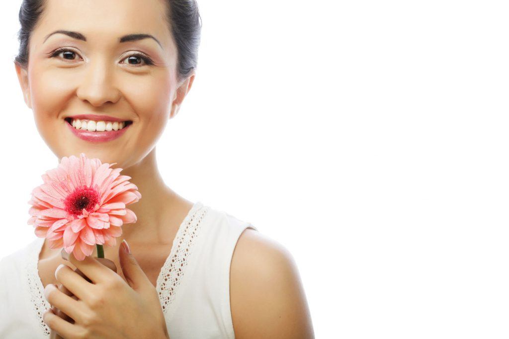 Beautiful Asian Woman - Dermal Fillers Treatment