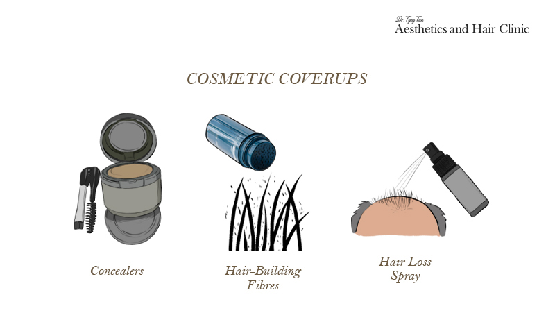 Hair Cosmetic Cover Ups